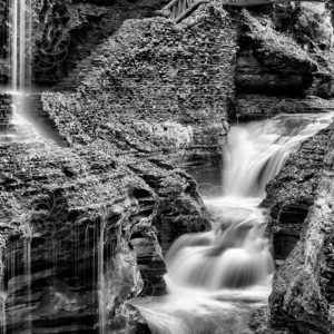 Untitled - BW Waterfall