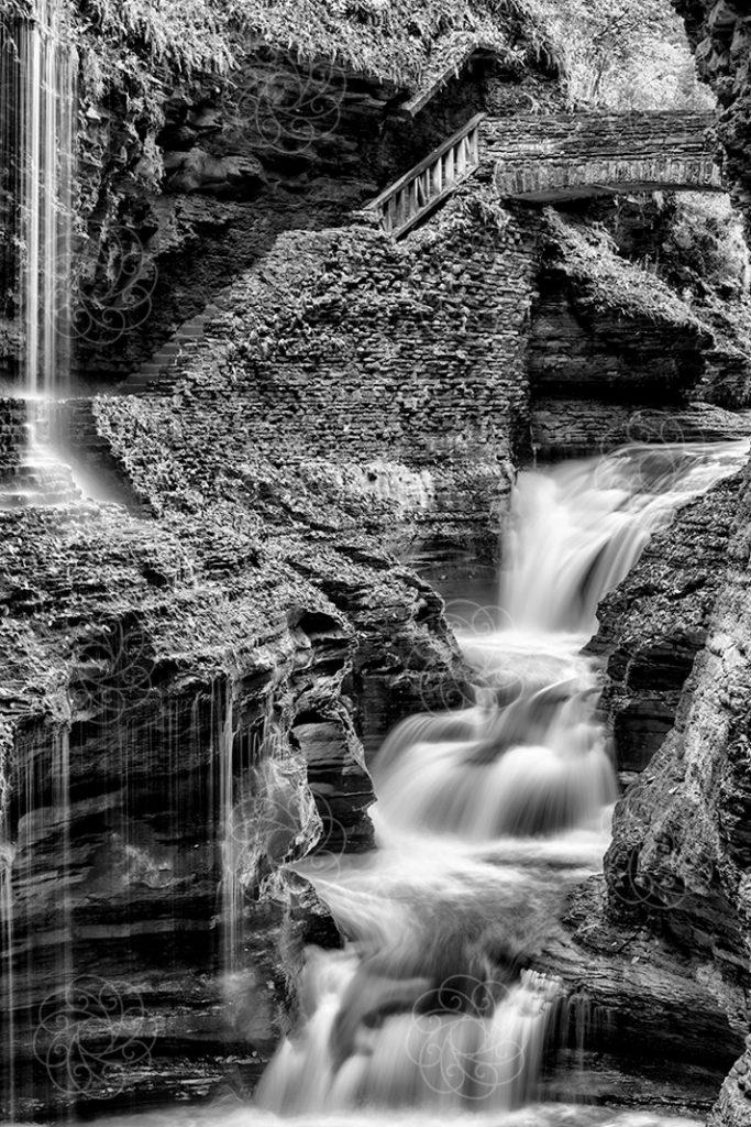 Untitled - BW Waterfall