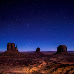 Monument Valley Night Sky